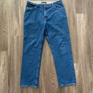Vtg Tommy Hilfiger Jeans 38x32 2004